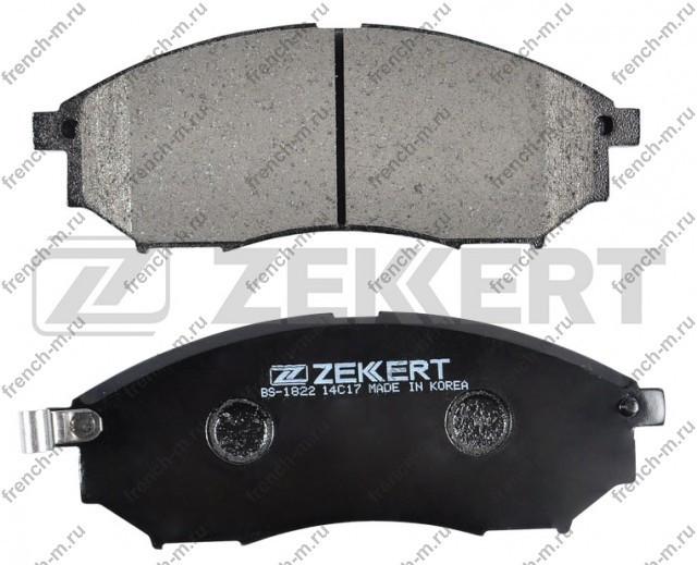 Передние тормозные колодки Zekkert