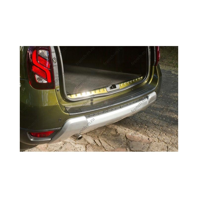 Накладка на задний бампер Renault Duster №3