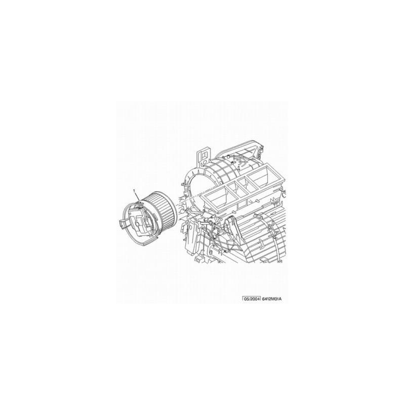 Мотор печки С5
